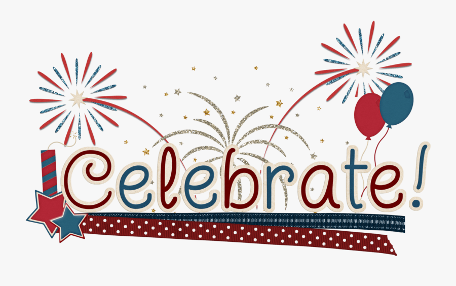 4th Of July Borders - Fourth Of July Celebration Clipart, Transparent Clipart