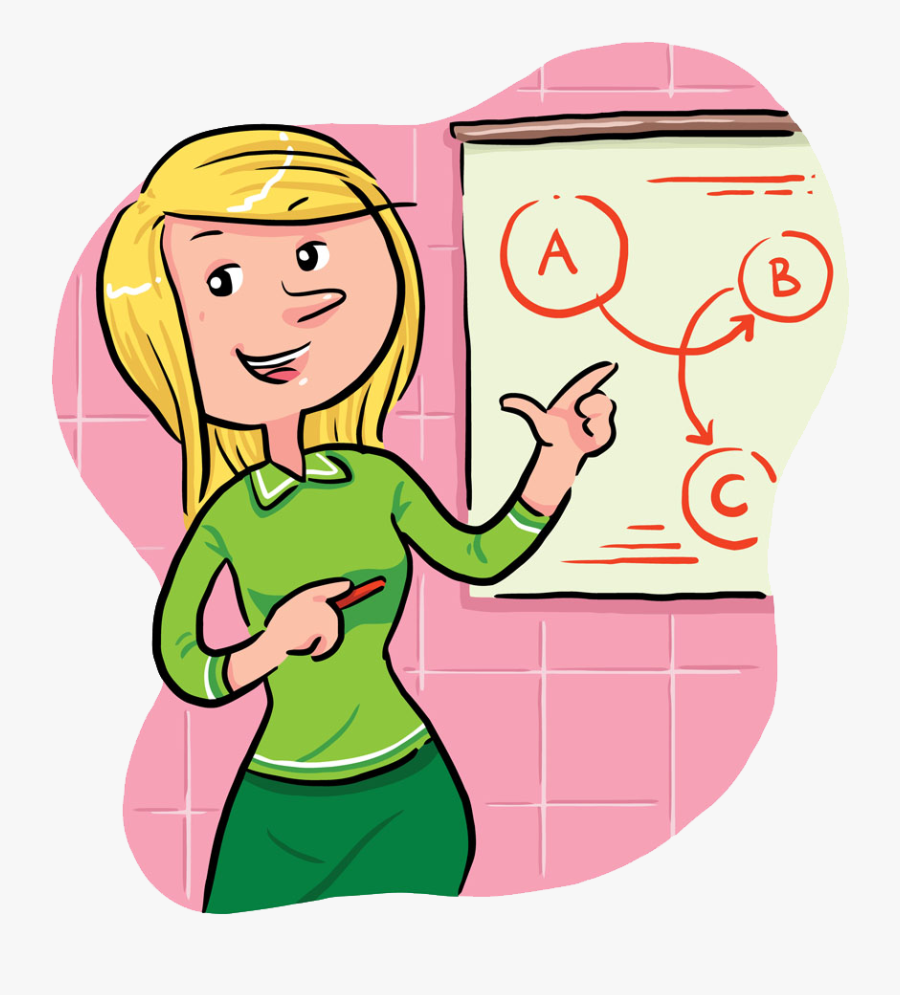 Sales Stock Photography Clip - Girl Sales Cartoons For Presentations, Transparent Clipart