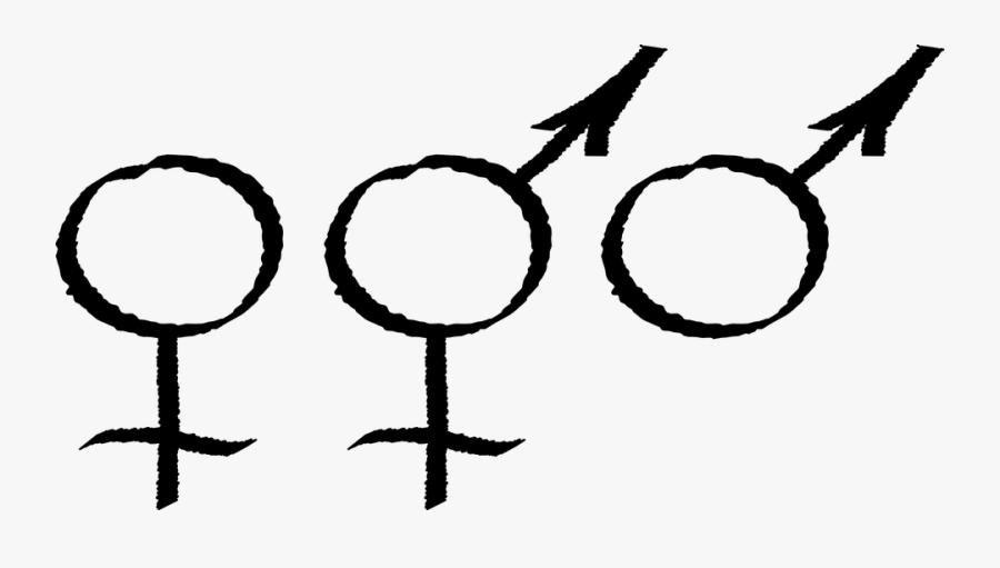Male Symbol 20, Buy Clip Art - Male Male Female, Transparent Clipart