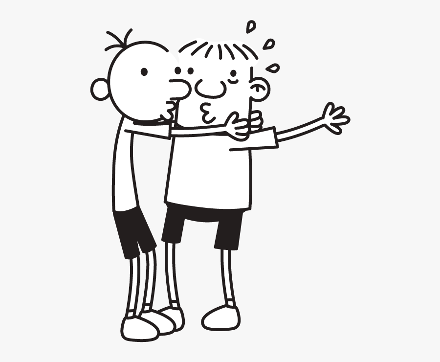 Rowley Jefferson And Greg Heffley Free Transparent Clipart Clipartkey