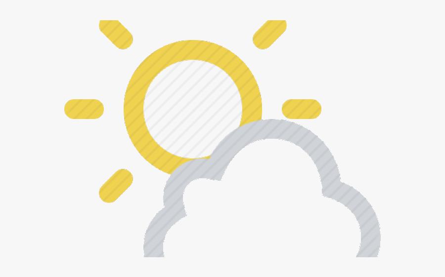 Partly Cloudy Sunny Clipart App Store Free Transparent - Clip Art, Transparent Clipart