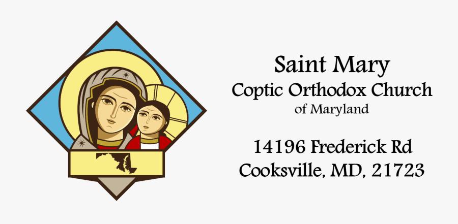 Saint Mary Coptic Orthodox Church Of Maryland Live, Transparent Clipart