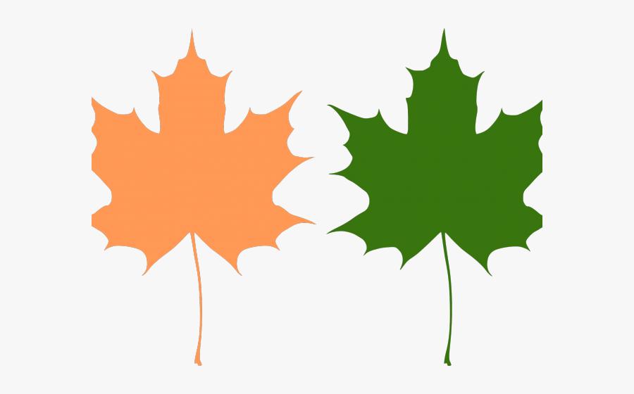 Maple Leaf Clipart Big Leaf - Maple Leaves Vector, Transparent Clipart