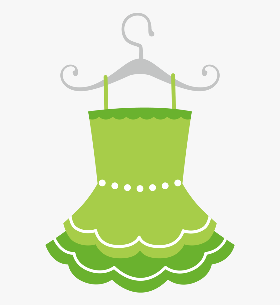 Transparent Baby Doll Clipart - Girl Green Dress Clipart, Transparent Clipart