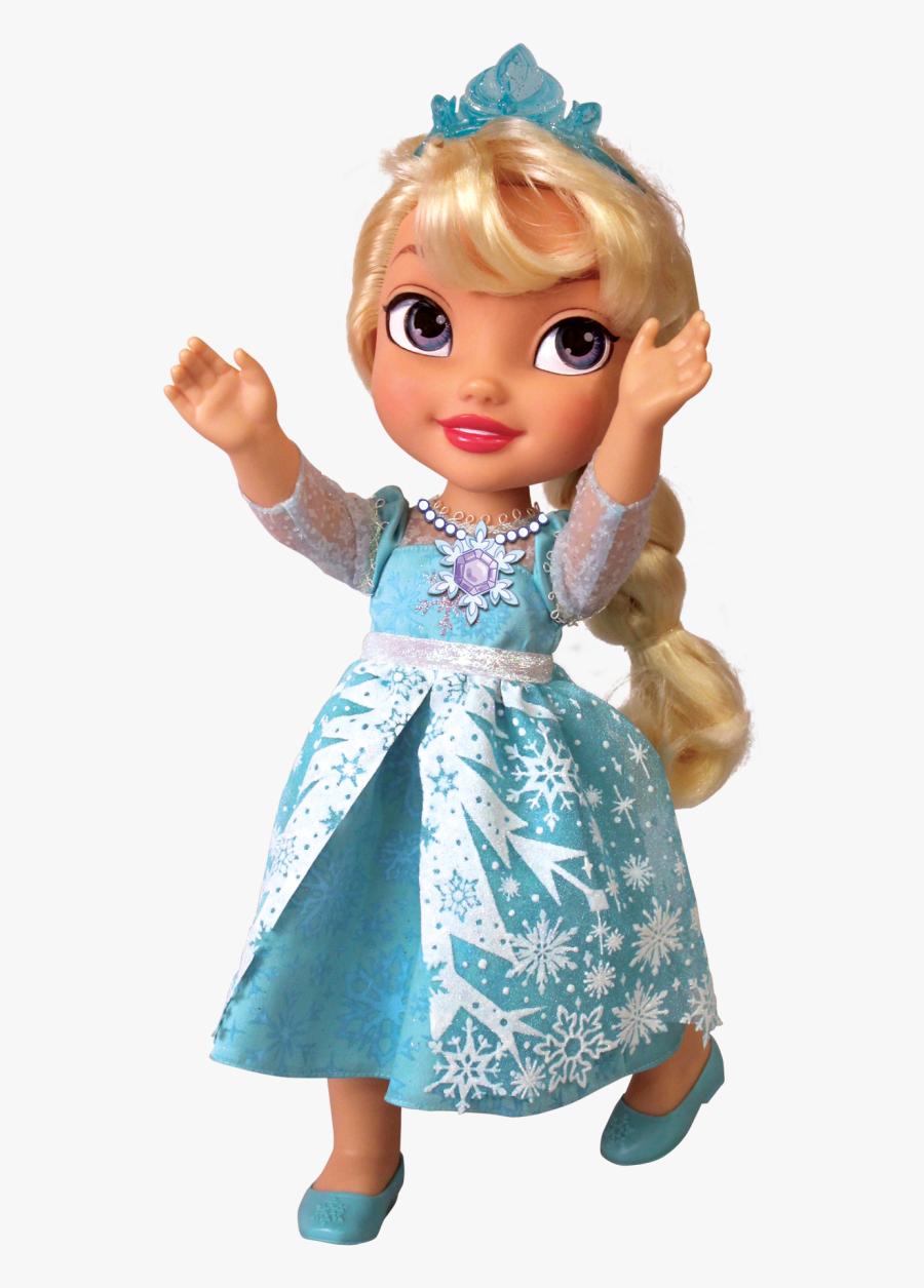 Transparent Put Toys Away Clipart - Frozen Doll Transparent, Transparent Clipart