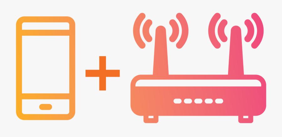 Wifi Receiver Icon, Transparent Clipart
