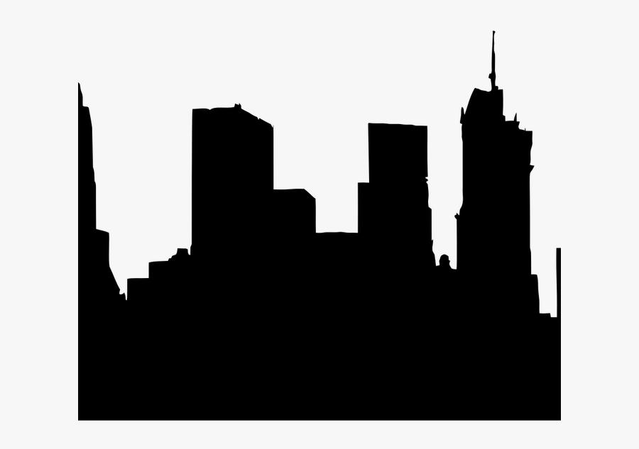 Building Silhouette Png Com Free For - Brooklyn Bridge, Transparent Clipart