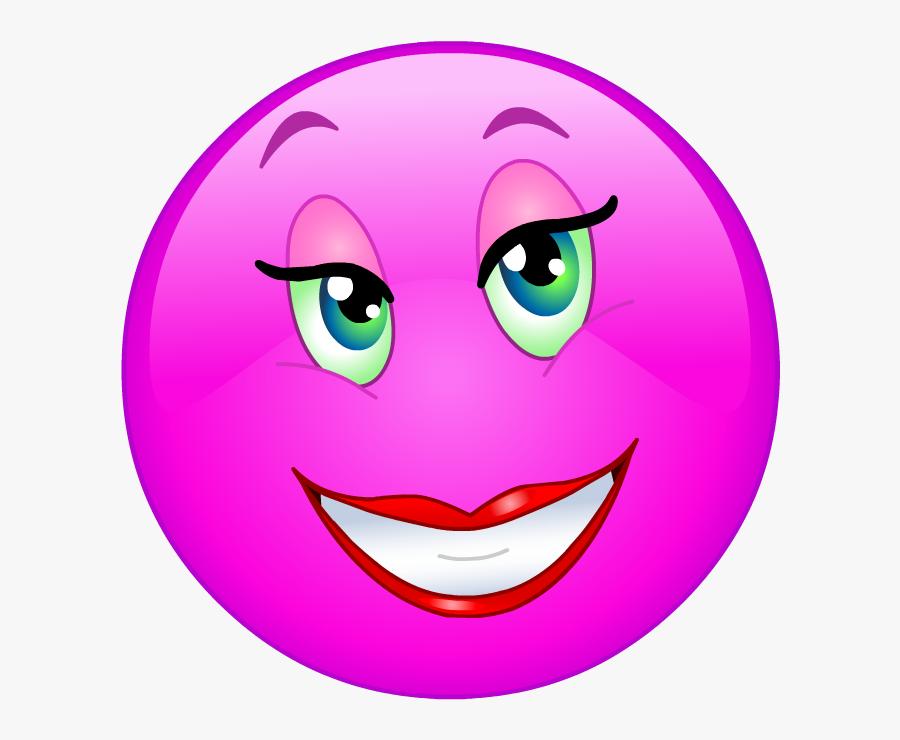 Caras Emoji, Emoji Clipart, Emojis, Smiley Faces, Emoticon, - Pink Emoji Smiley Face, Transparent Clipart