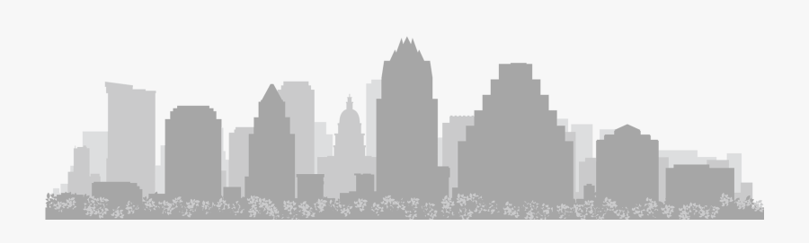 Clip Art Houston Skyline Drawing - Austin Texas Skyline Png, Transparent Clipart
