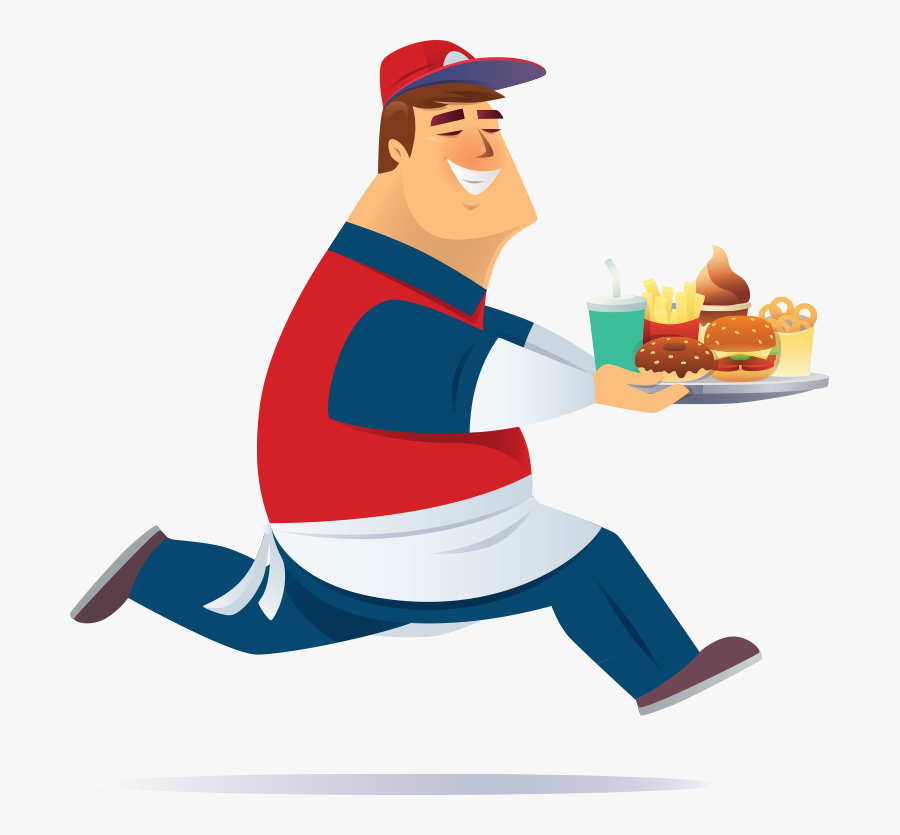 Fast Service Food Png, Transparent Clipart