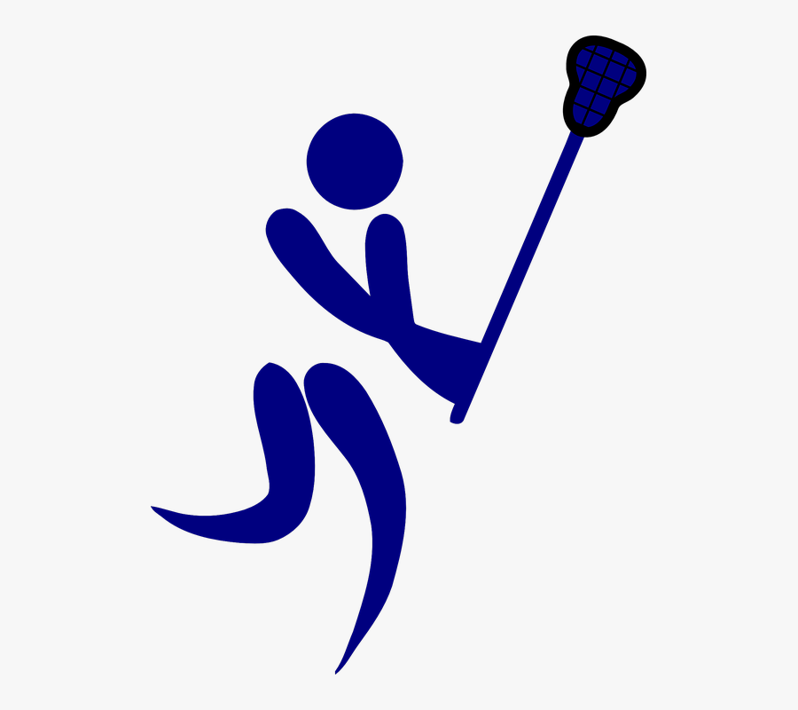 Lacrosse, Game, Sports, Net, Player, Competition - Field Hockey Basketball Lacrosse, Transparent Clipart