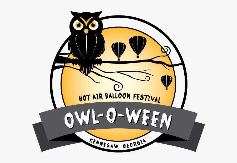 Owl O Ween Logo - Owl O Ween 2019, Transparent Clipart