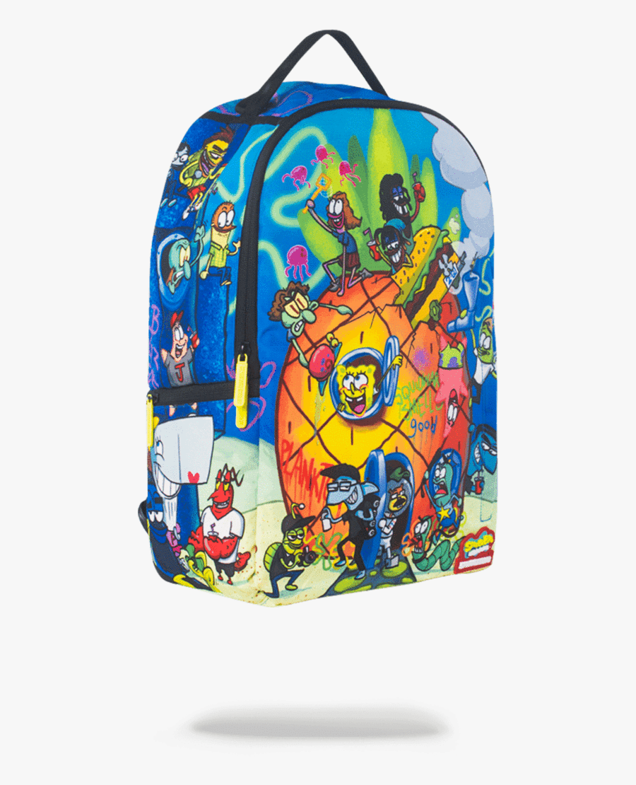 Sprayground Spongebob Pineapple Party Backpack Sprayground ...
