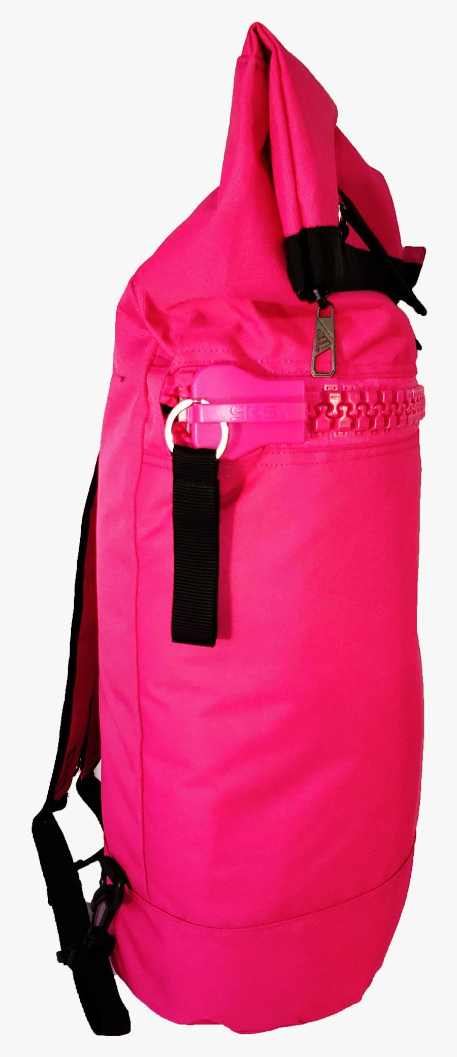 Pink Transparent Backpack - Diaper Bag, Transparent Clipart