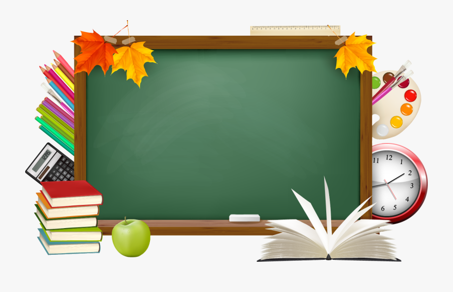 Frame Png For Teachers Day, Transparent Clipart