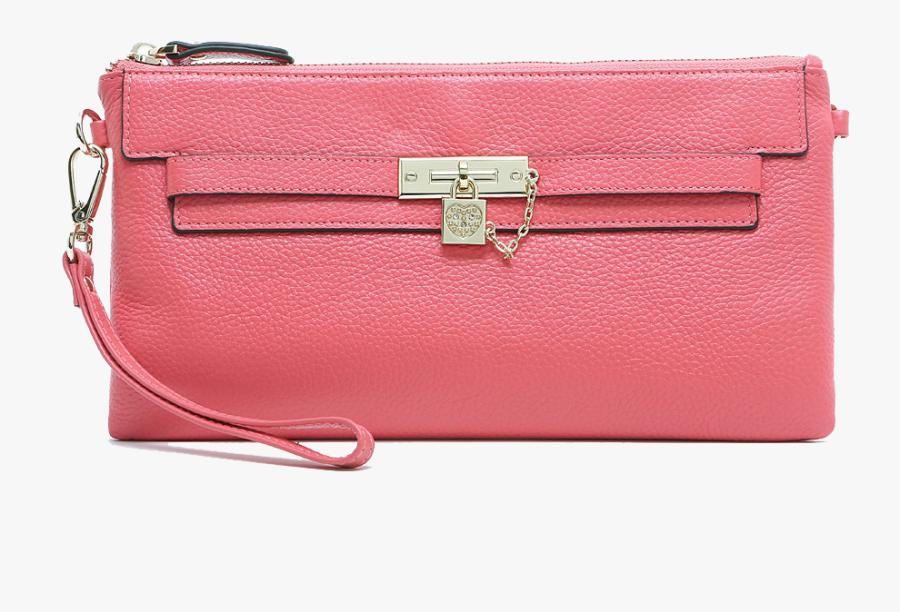 Pink Wallet Png - Shoulder Bag, Transparent Clipart