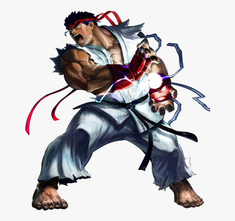 Transparent Fighter Pilot Clipart Ryu Street Fighter 5 Png