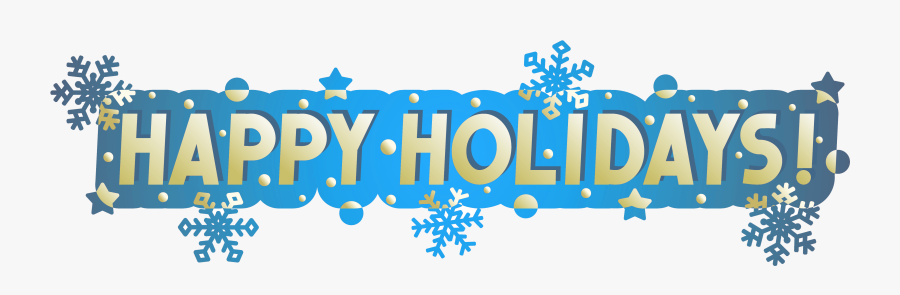 Transparent Happy Holidays Banner Png - Happy Holidays Banner, Transparent Clipart