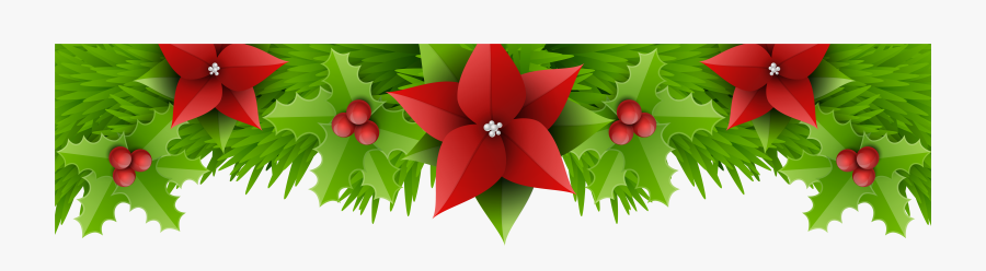 Christmas Decorations Clipart Borders Png , Png Download - Portable Network Graphics, Transparent Clipart