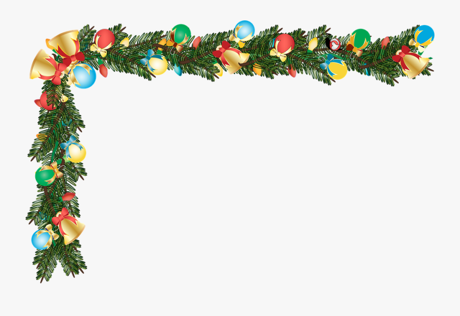 Graphic Christmas Border Border Seamless Christmas - Christmas Border, Transparent Clipart