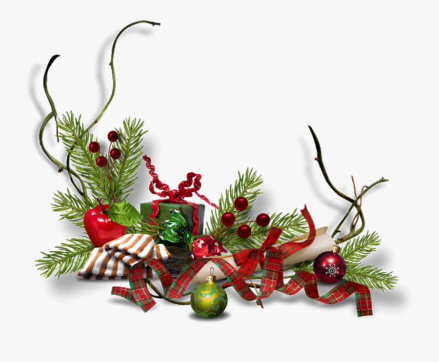 #ftestickers #christmas #decoration #border #vintage - Decori Di Natale Png, Transparent Clipart