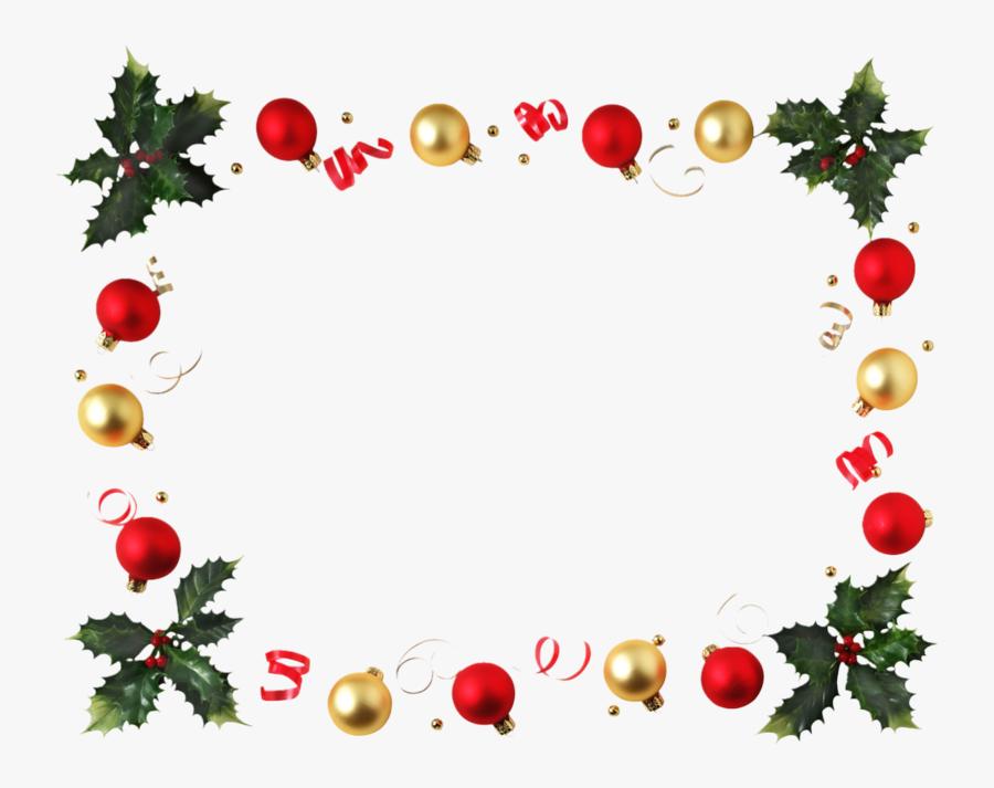 Clipart Cadre Noel Gratuit - Christmas Border , Free ...