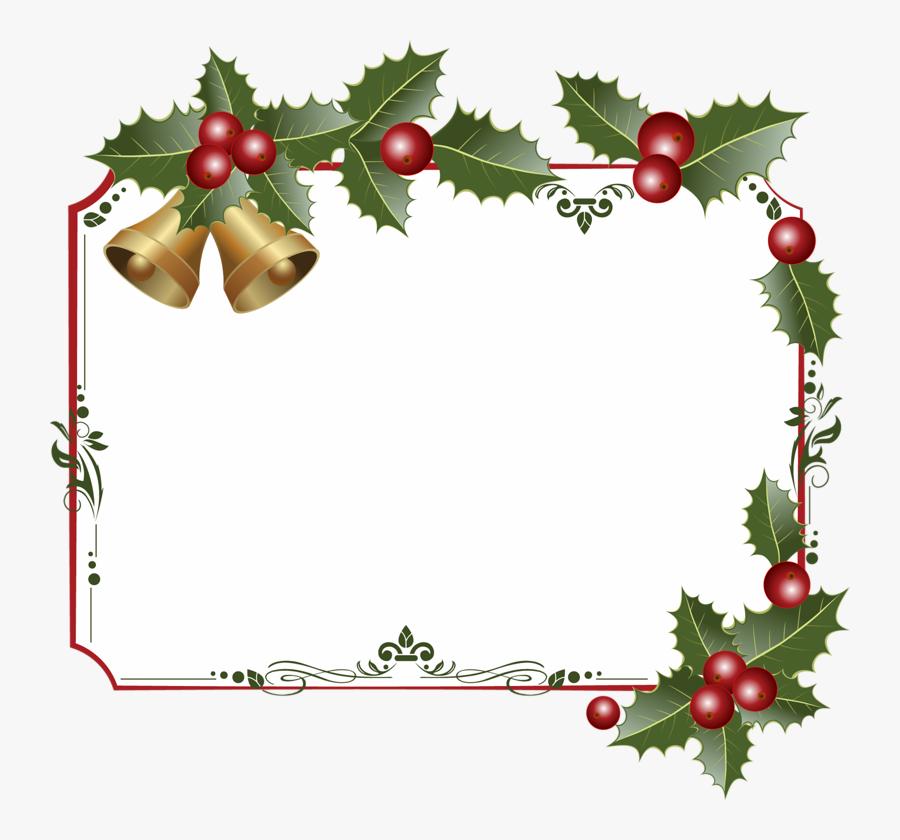 Clip Art Clip Art Decorative And - Christmas Borders Clipart Hd, Transparent Clipart