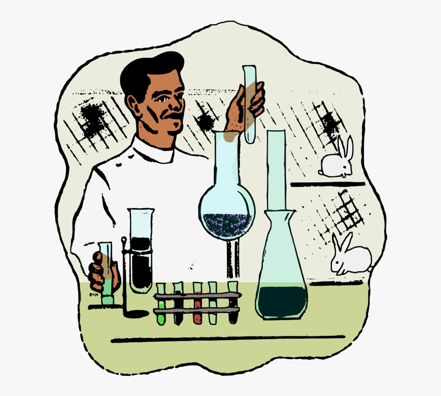 Drawing Laboratory Clip Art - Chemistry Science Lab Drawing, Transparent Clipart