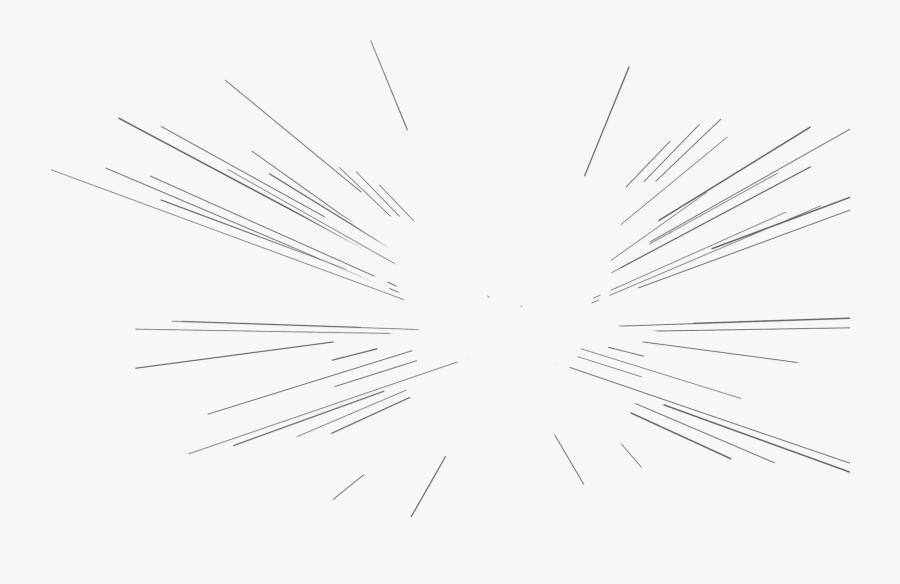 Transparent Speed Lines Png , Png Download - Monochrome, Transparent Clipart