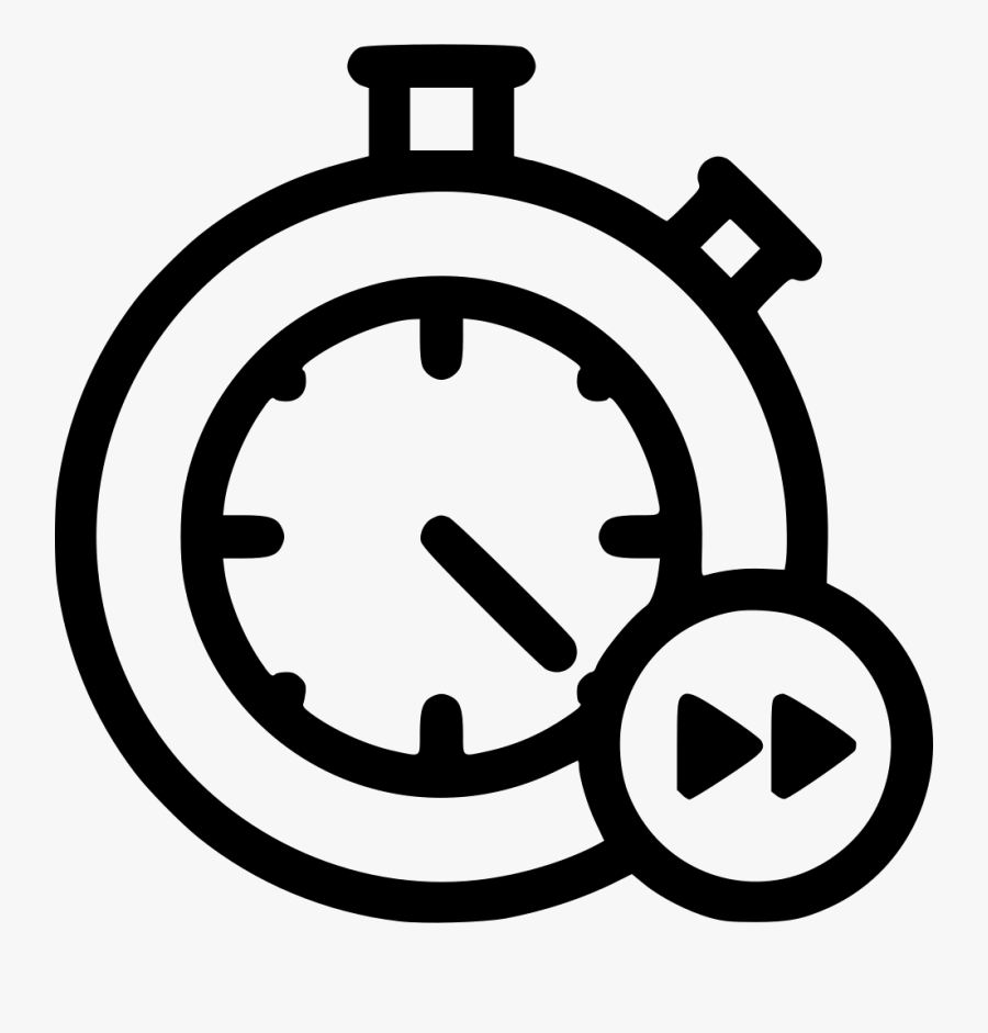Stopwatch Clock Delivery Fast Speed Time Timer - Time Clock Icon, Transparent Clipart
