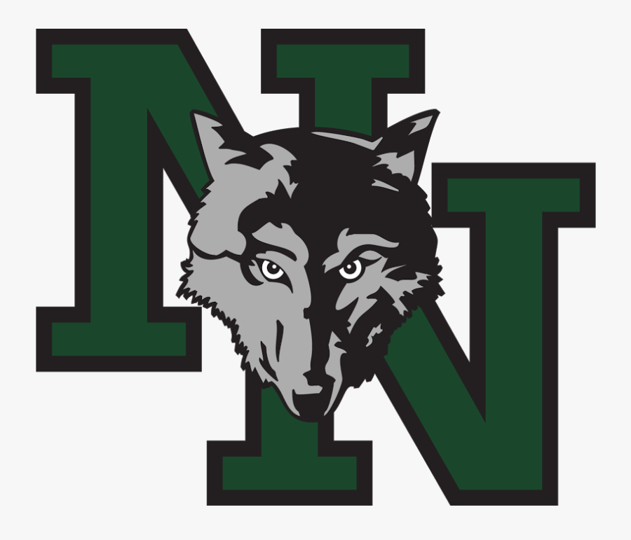 """Norman North""""  Class=""""img Responsive True Size - Norman North High School Timberwolves, Transparent Clipart"""