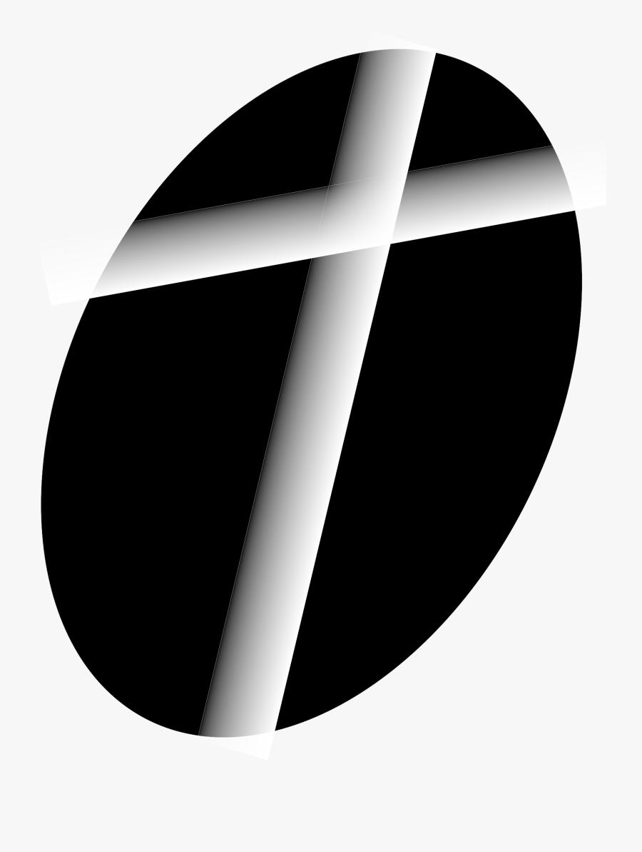 Cross Clipart Logo - Circle, Transparent Clipart