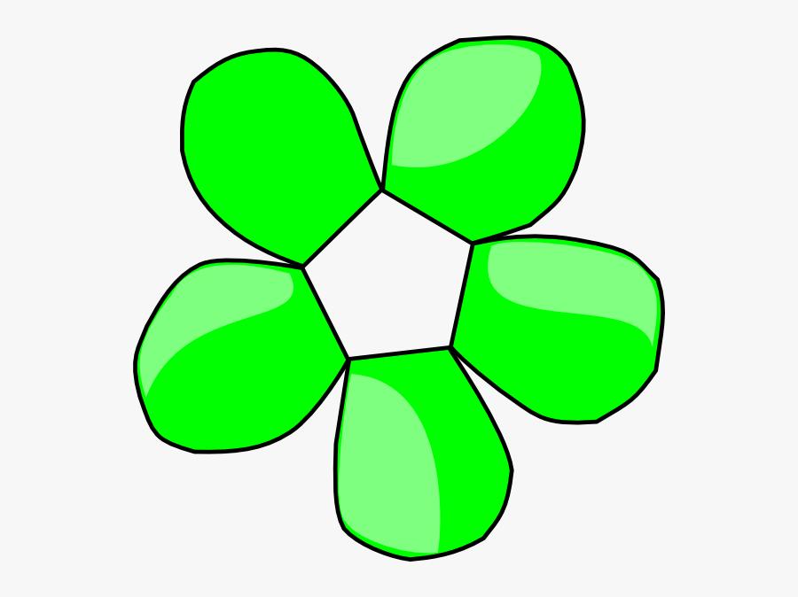 Green Funny Flower Svg Clip Arts - Orange Daisy Flower Clip Art, Transparent Clipart