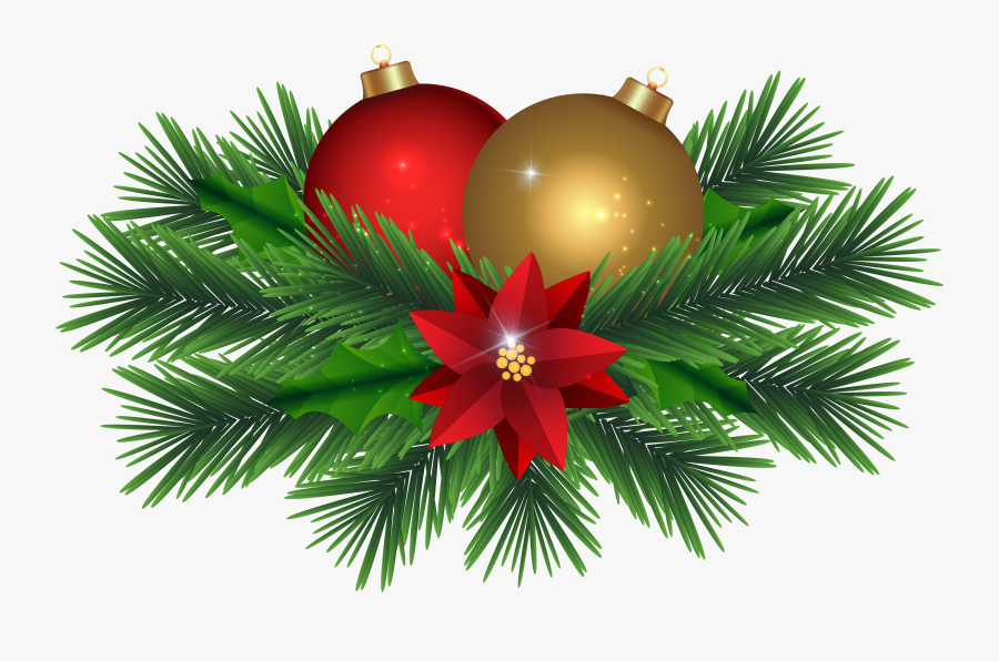 Transparent Png Decor - Christmas Day, Transparent Clipart