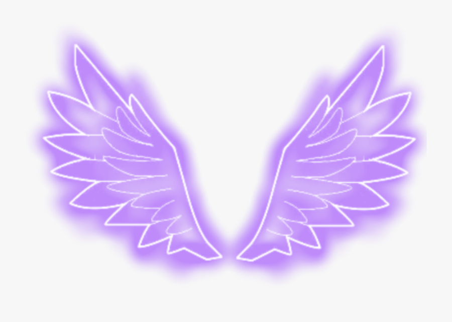 Wings Neon Png Image - Transparent Neon Wings Png, Transparent Clipart