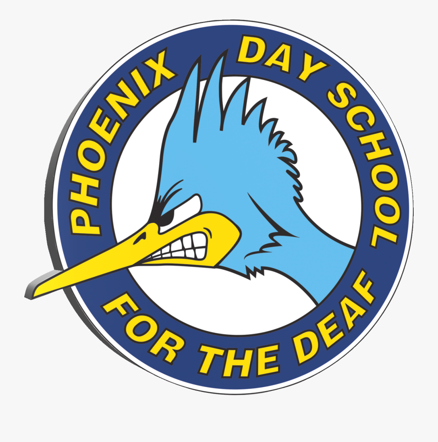 Phoenix Day School For The Deaf - Phoenix Day School For The Deaf Mascot, Transparent Clipart