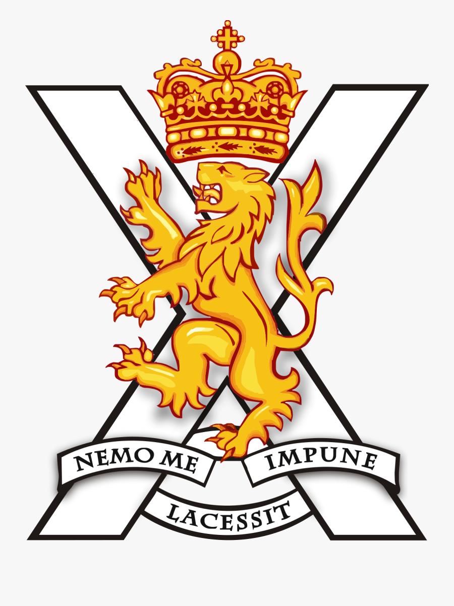 London Clipart Soldier British - Royal Regiment Of Scotland Logo, Transparent Clipart