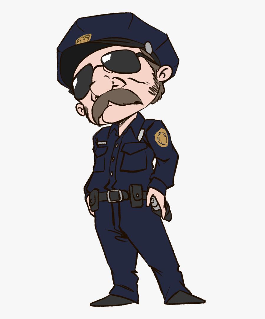Clip Art Police Officer Uniform Clipart - Police Officer Png, Transparent Clipart