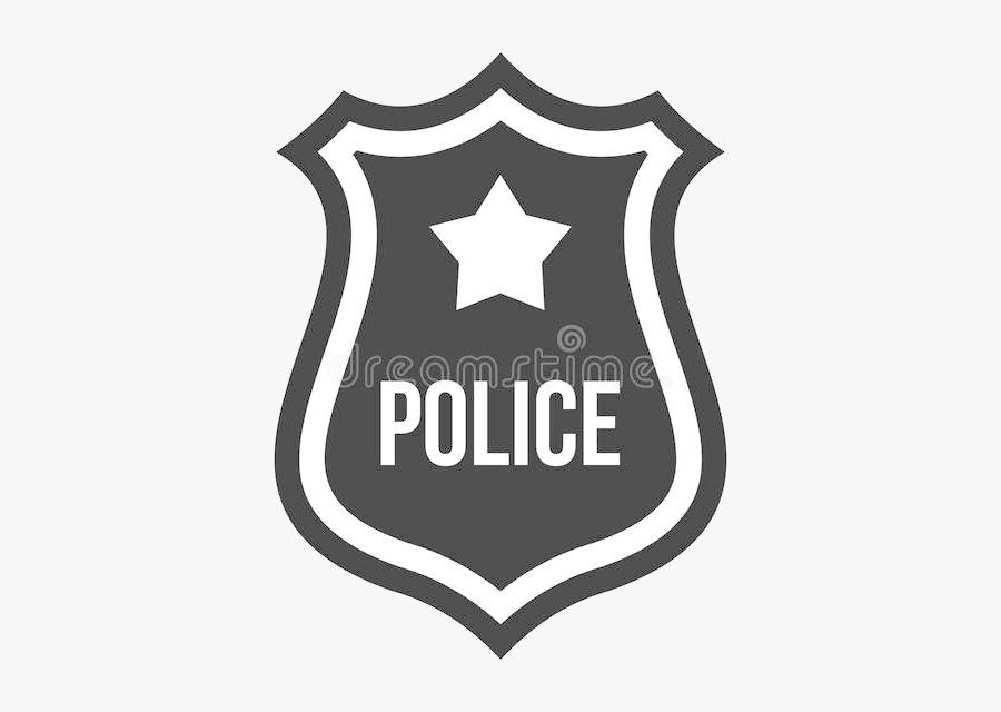 Police Badge Clipart Clipartioncom Transparent Png - Silhouette Police Badge Vector, Transparent Clipart