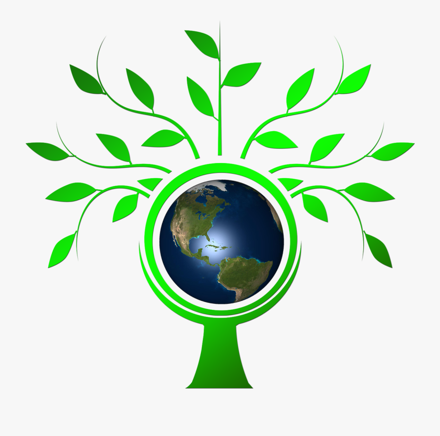 Save Earth Logo Png, Transparent Clipart