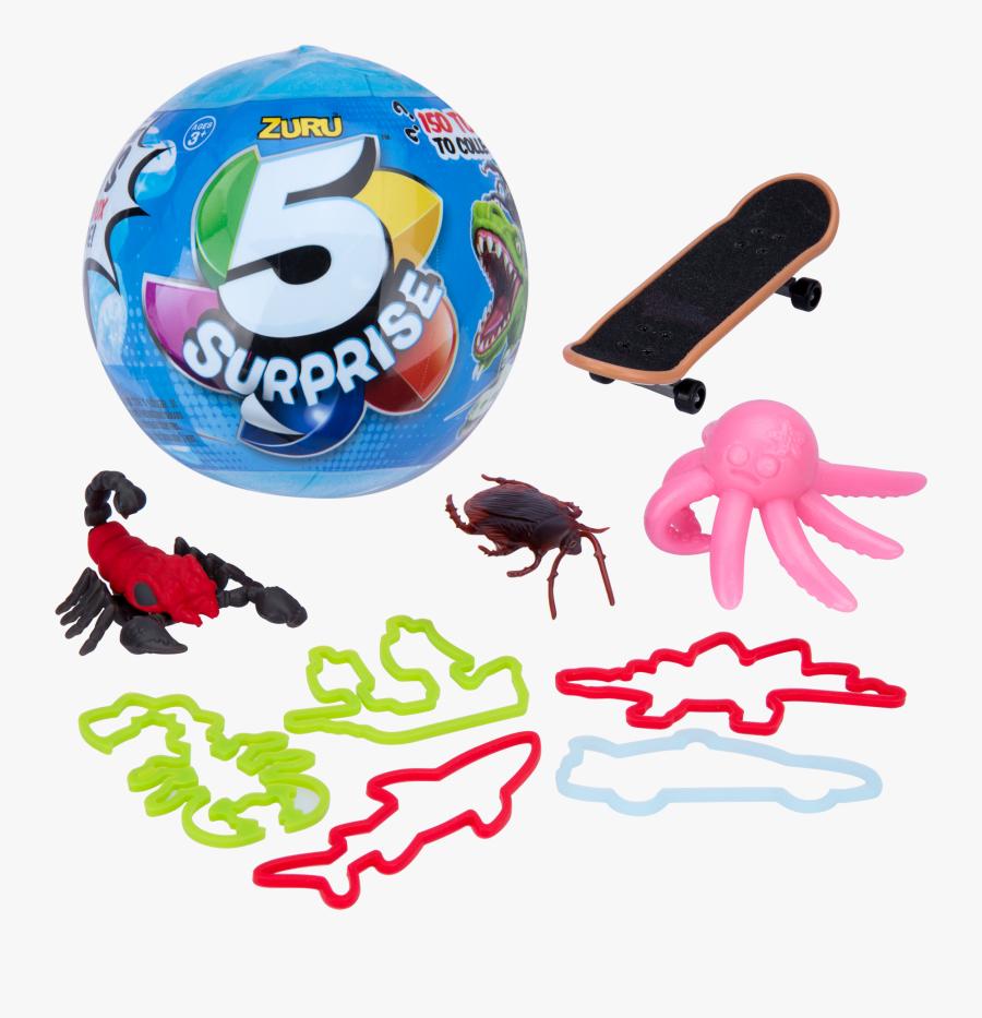 Zuru Surprise 5 Balls, Transparent Clipart