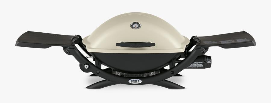 Weber® Q 2200 Gas Grill View - Weber Q Grill, Transparent Clipart