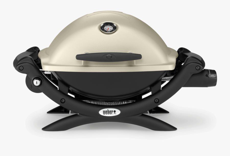 Weber® Baby Q Premium Gas Barbecue View - Weber Q Grill, Transparent Clipart