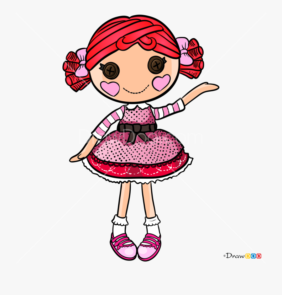 How To Draw Toffe Cocoa Cuddles, Lalaloopsy - Lalaloopsy Toffee Cocoa Cuddles, Transparent Clipart