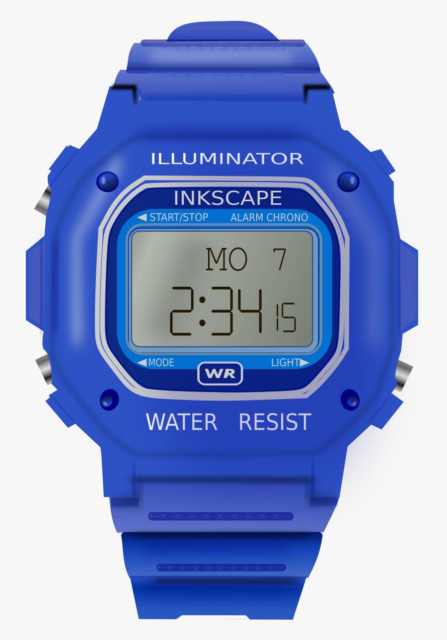 Blue,watch Accessory,purple - Montre Electrique, Transparent Clipart