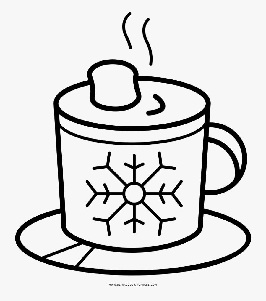 Transparent Hot Chocolate Clipart Png - Snowflake Png, Transparent Clipart