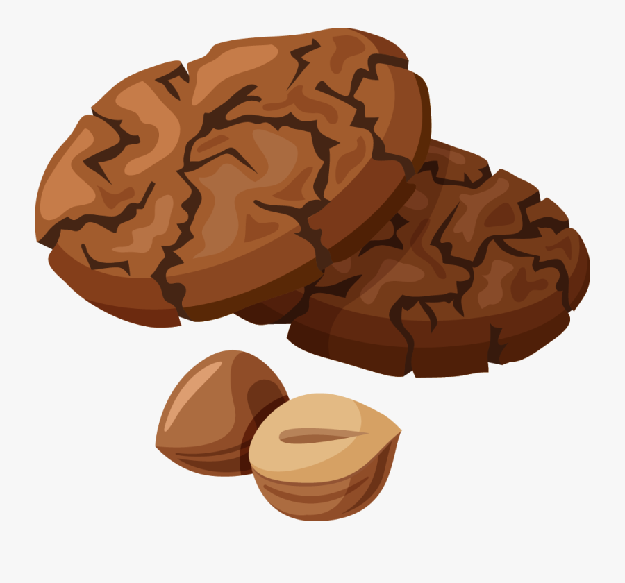 Chocolate Chip Cookie Hot Chocolate Clip Art - Clip Art Of Chocolate Cookies, Transparent Clipart