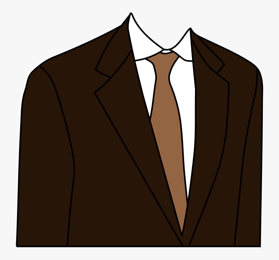 Brown Suit - Suit Clipart Png, Transparent Clipart