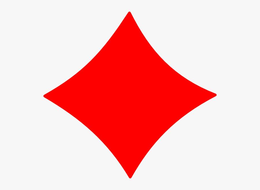 Diamond Card Symbol Png, Transparent Clipart