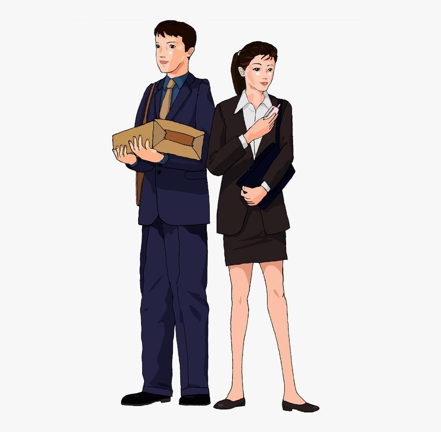 Suit Clip Art - Men In Suit Cartoon, Transparent Clipart